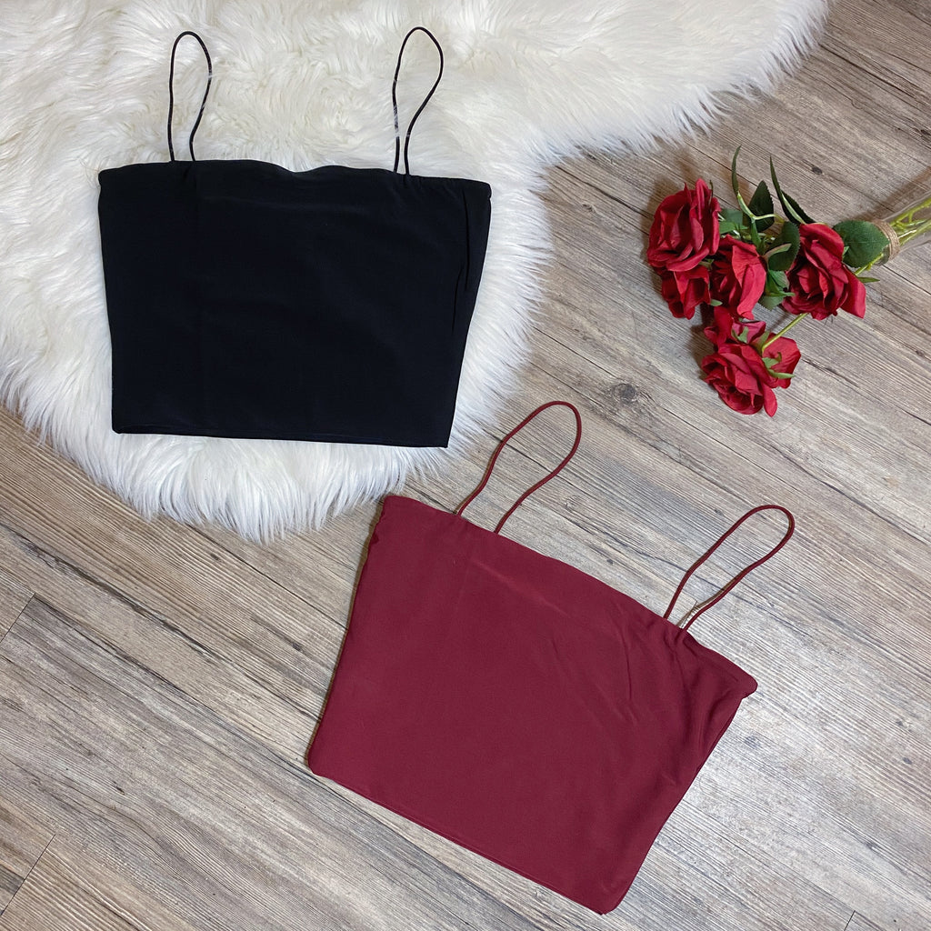 Luna Top - Burgundy