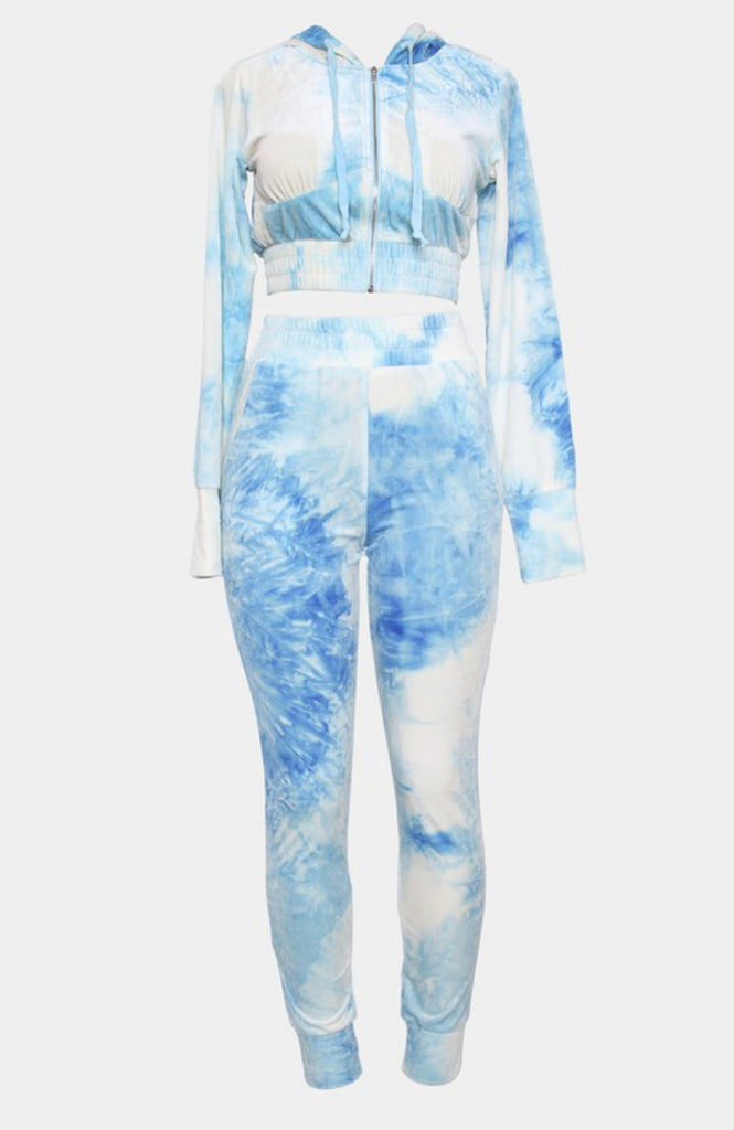 Lets Tie Dye Set - Blue