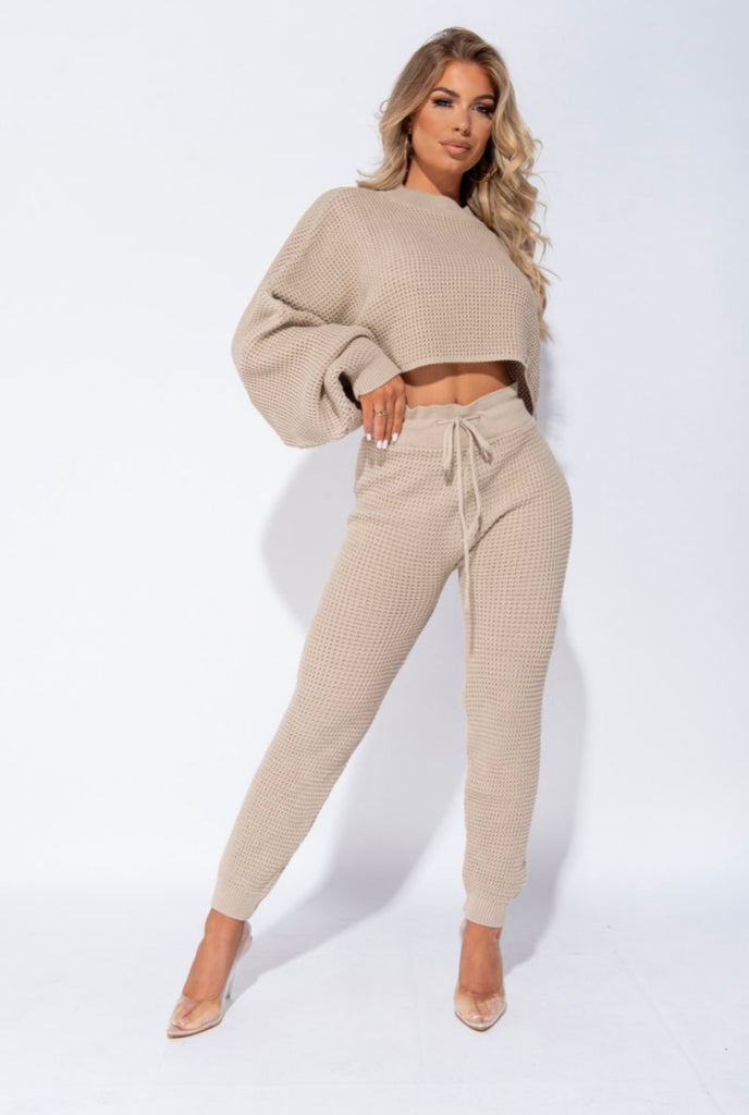 Keep Me Cozy Set - Beige