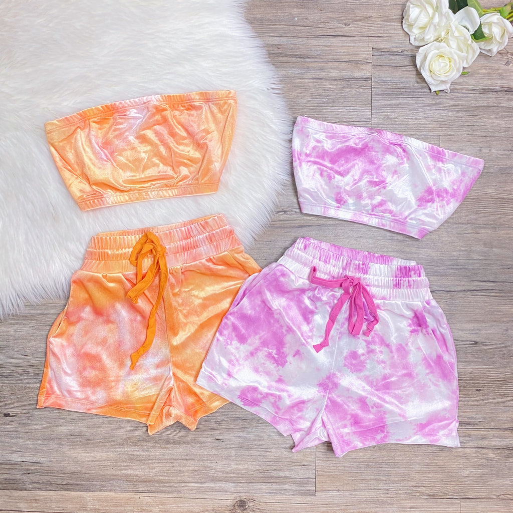 Cotton Candy Set - Orange