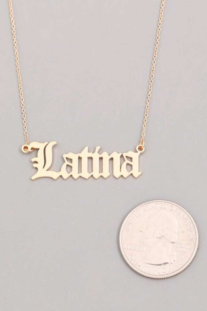 Latina Necklace - Gold