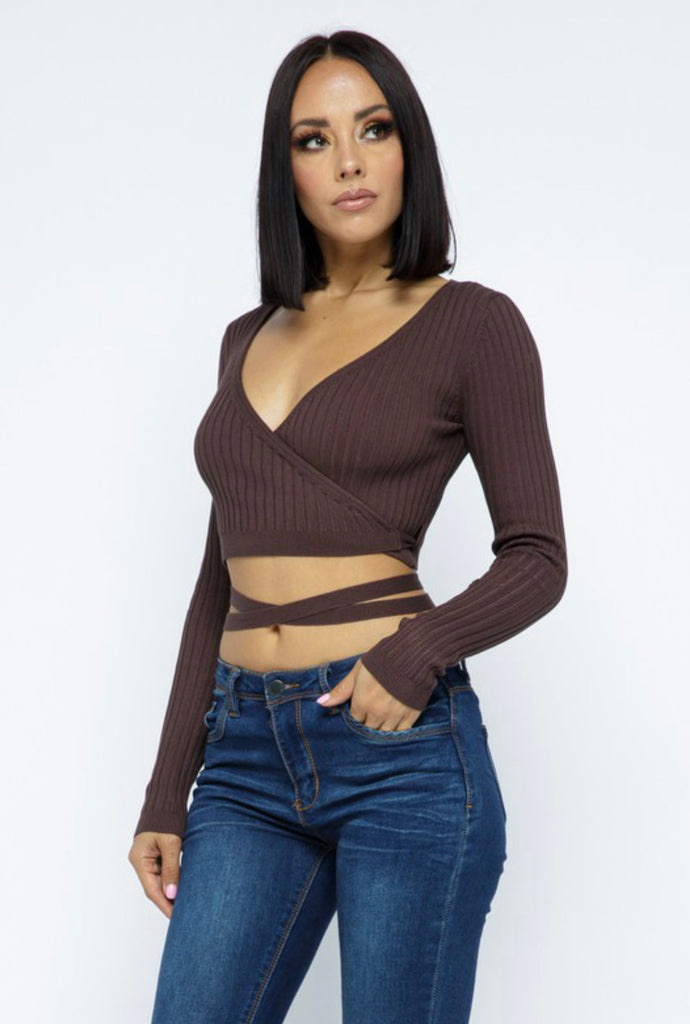 Ariyah Top - Chocolate