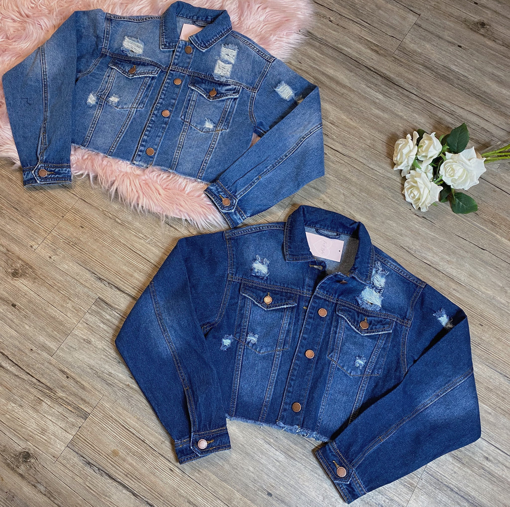 Valery Jacket - Medium Denim