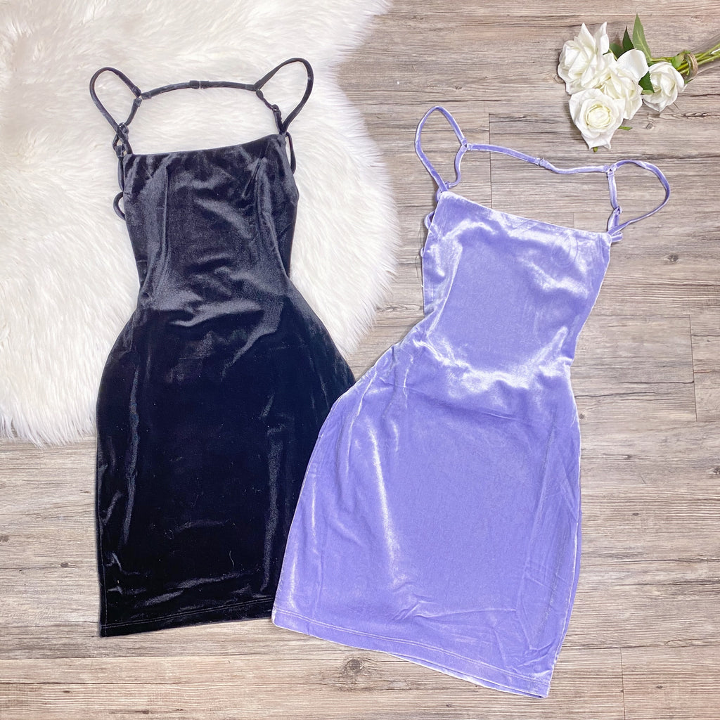 Lezly Dress - Lavender