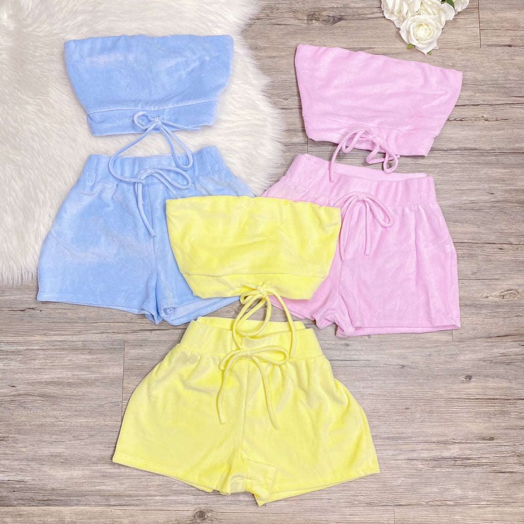 I Want Candy Set - Yellow