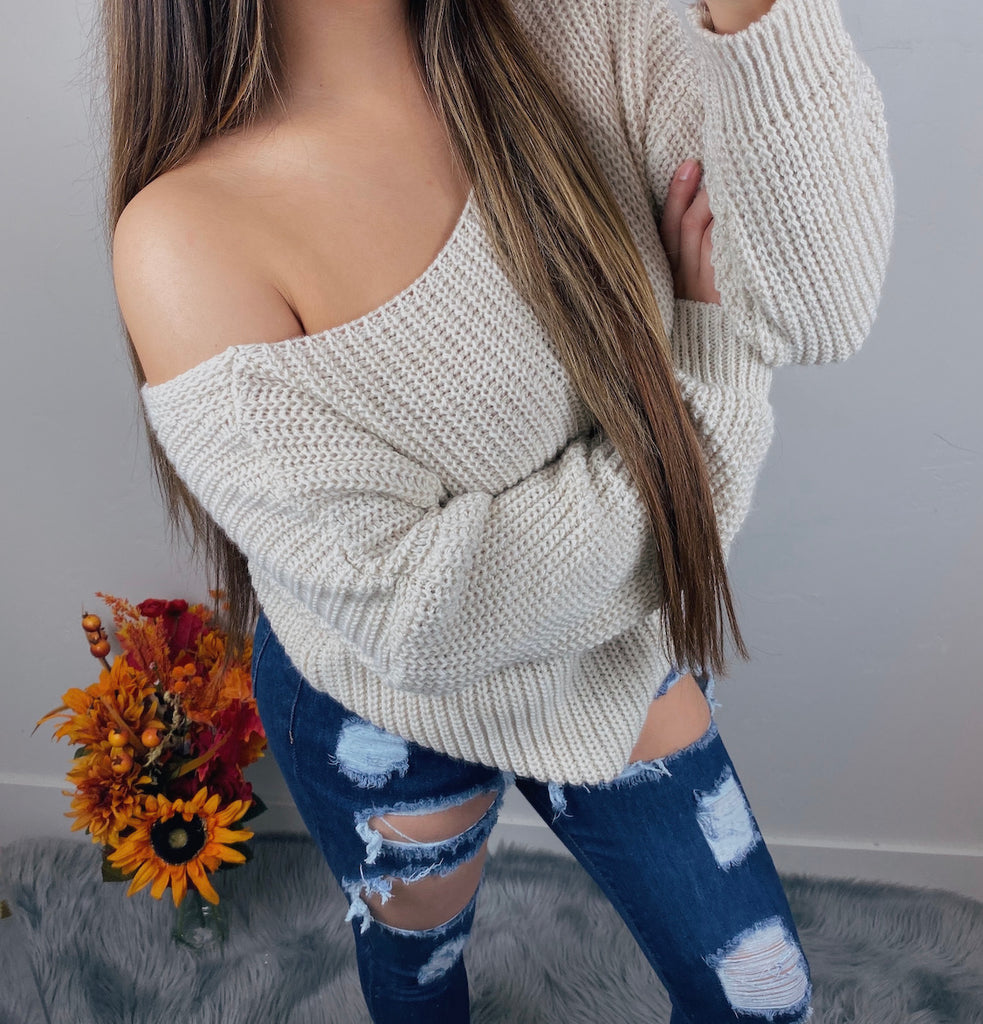 Rebecca Sweater - Cream