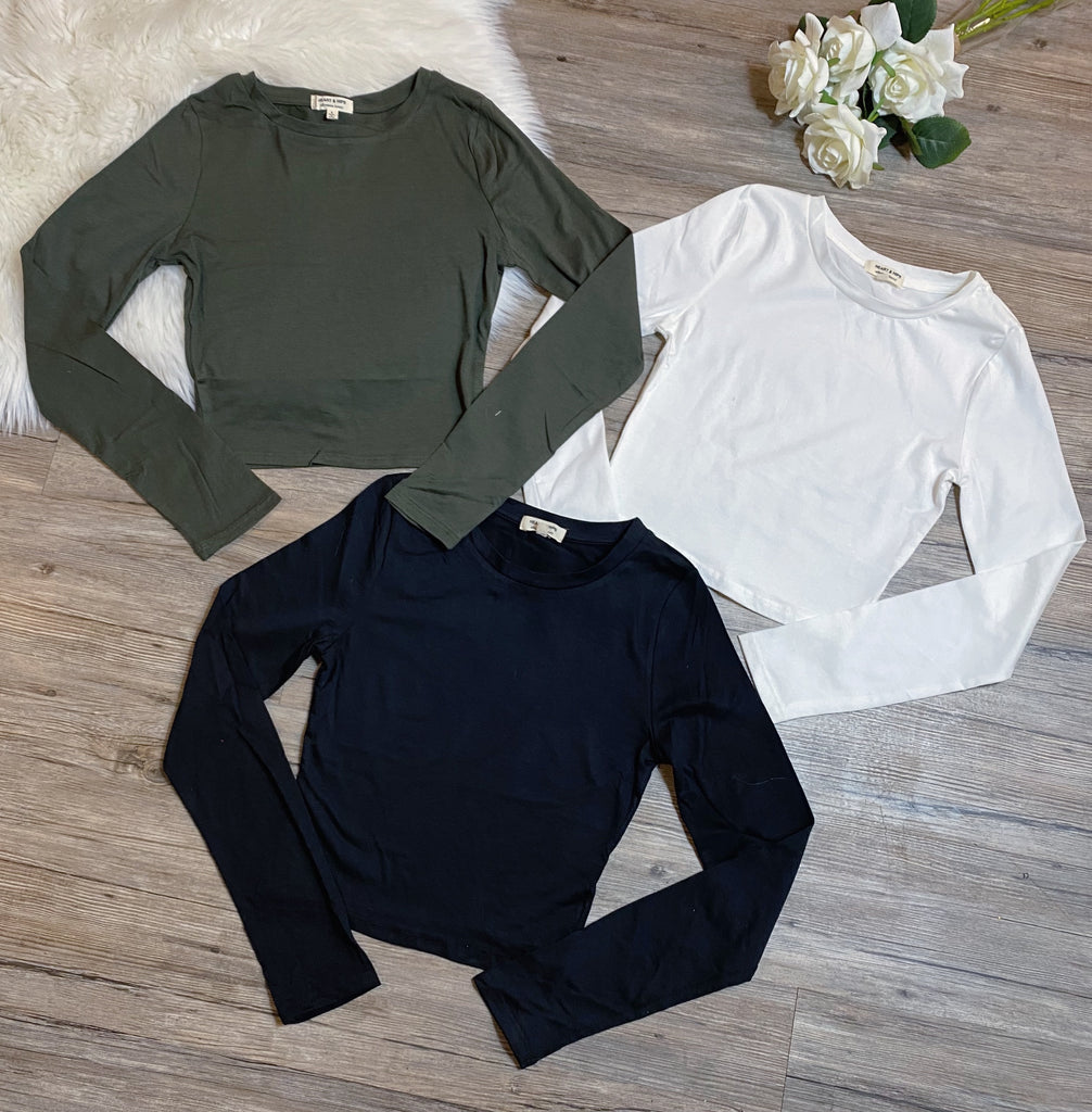 Emily Top - Olive
