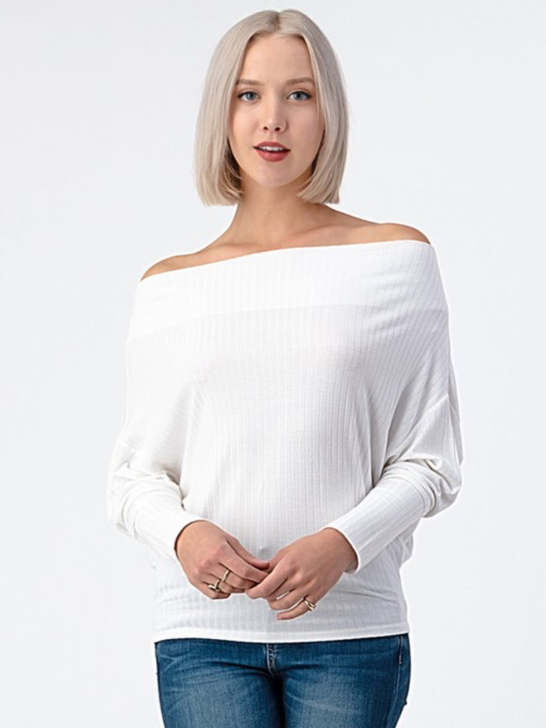 Dreamin Top - White