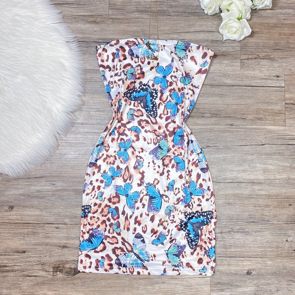 Feeling Wild Dress - Leopard