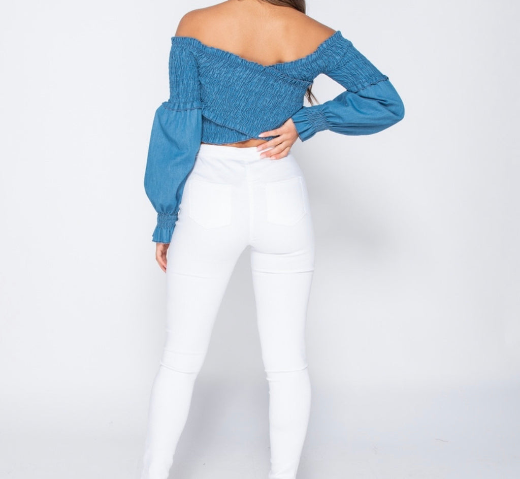 Mariana Top - Denim