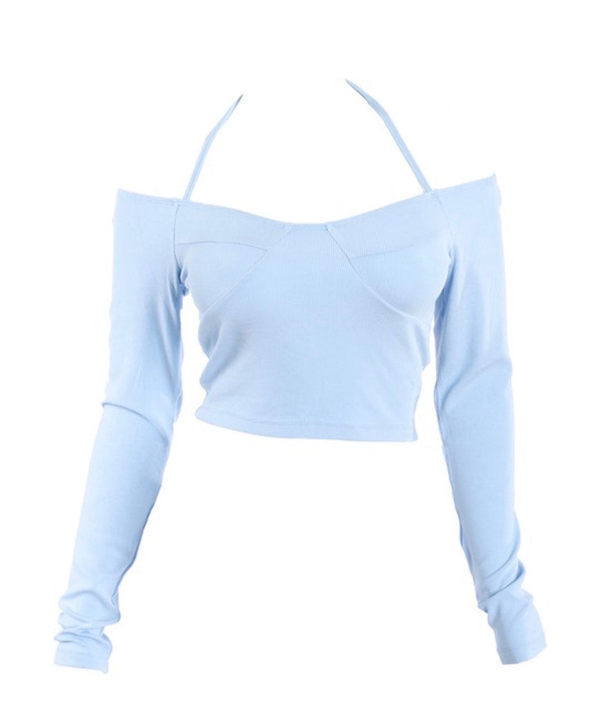Best Of Me Top - Blue