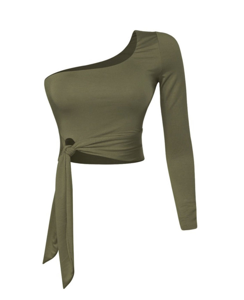Tiffani Top - Olive