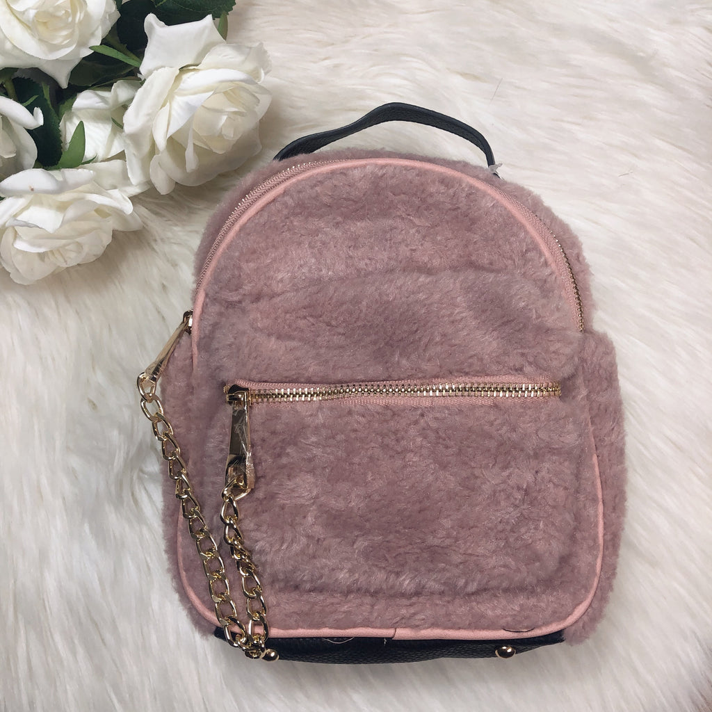 I Want It, I Got It Backpack - Mauve