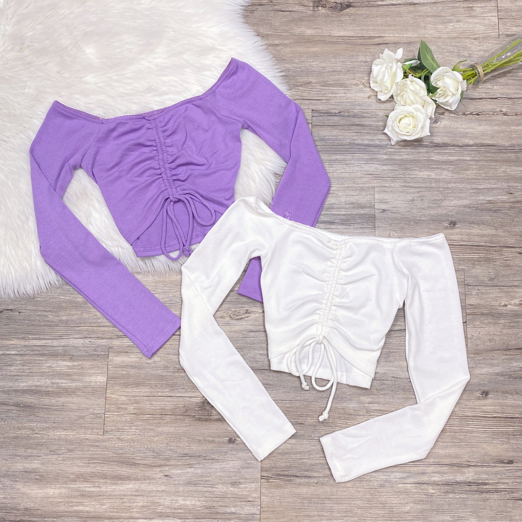 Brileeya Top - Lavender