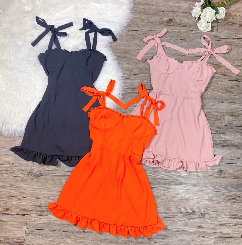 Liz Dress - Orange