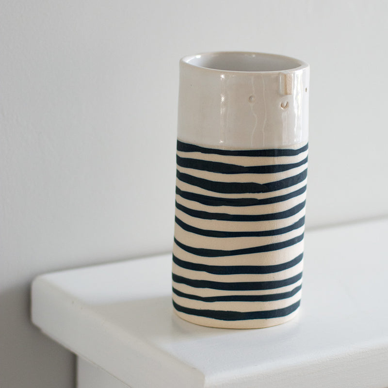 Smile and Stripes Vase