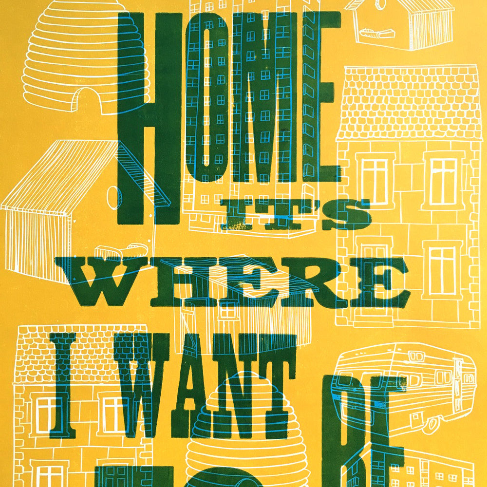 Home - Yellow print