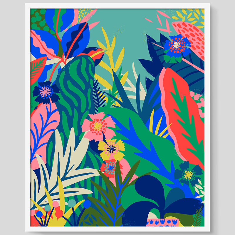 Hothouse Mint print