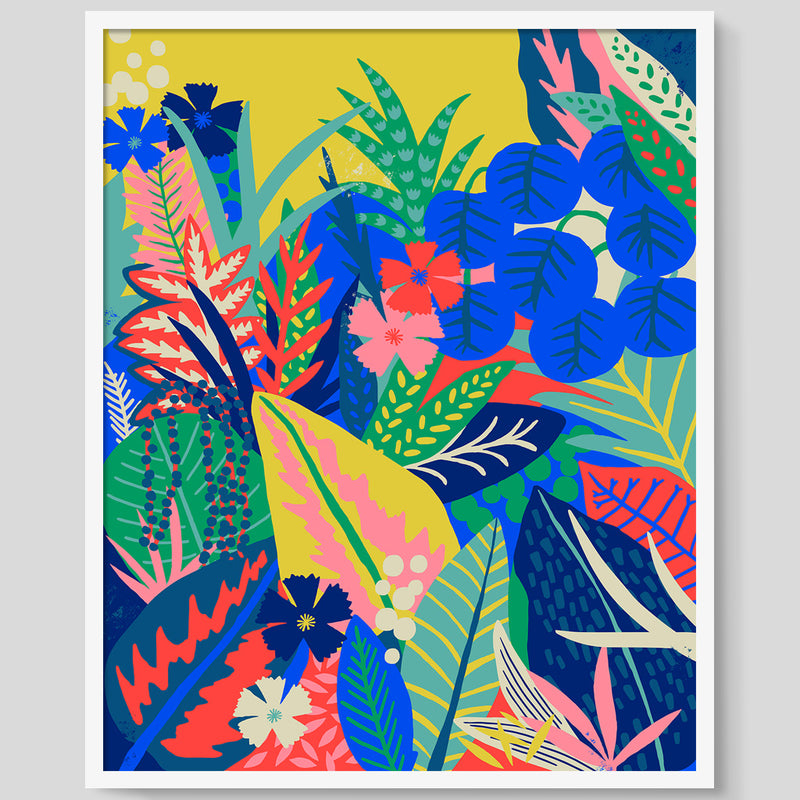 Hothouse Yellow print