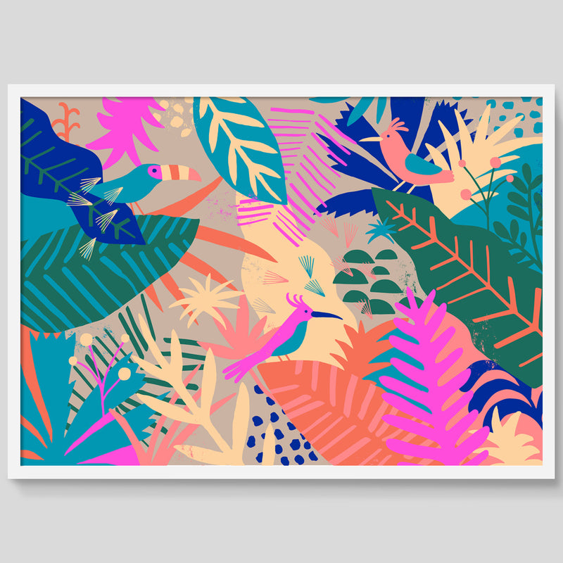 Jungle Birds print