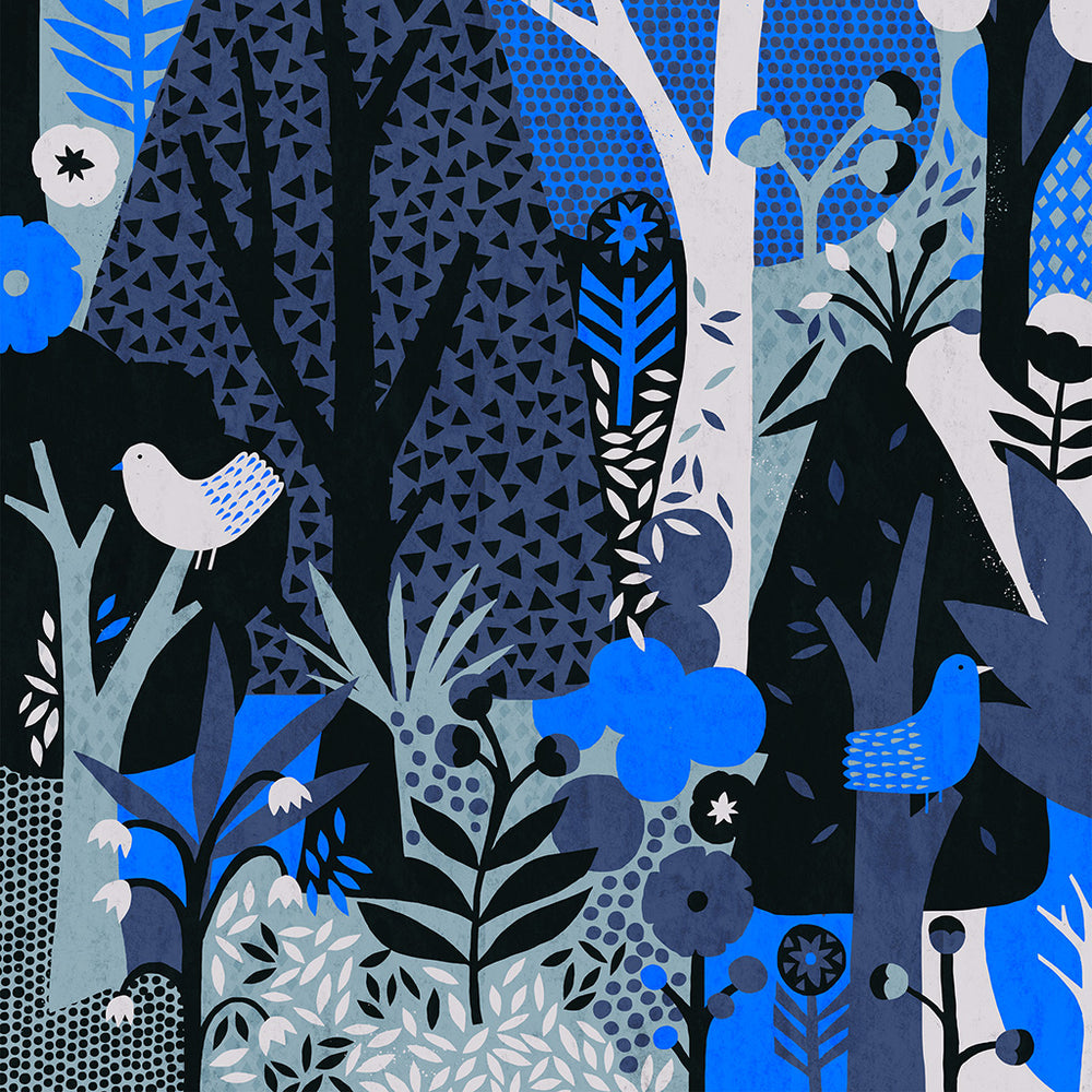 Nordic Forest print