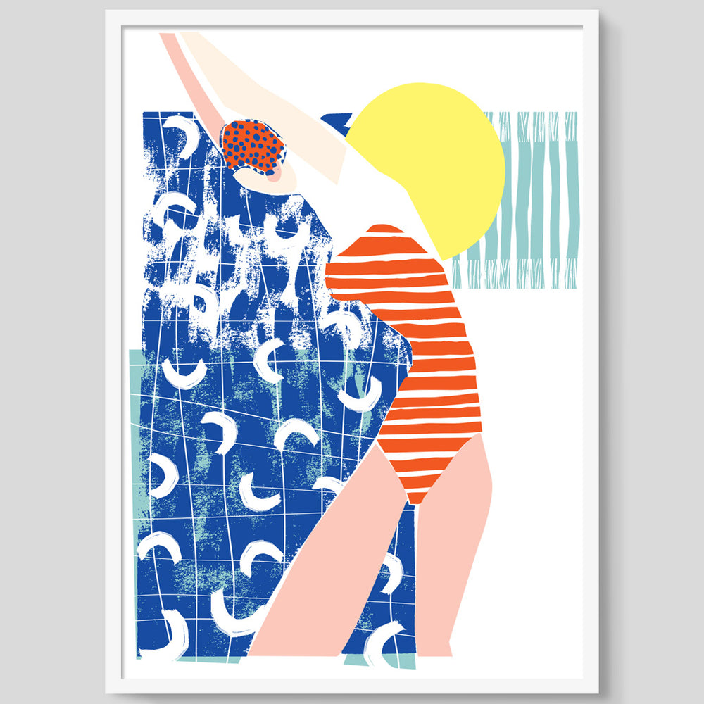 Bathing Cap print
