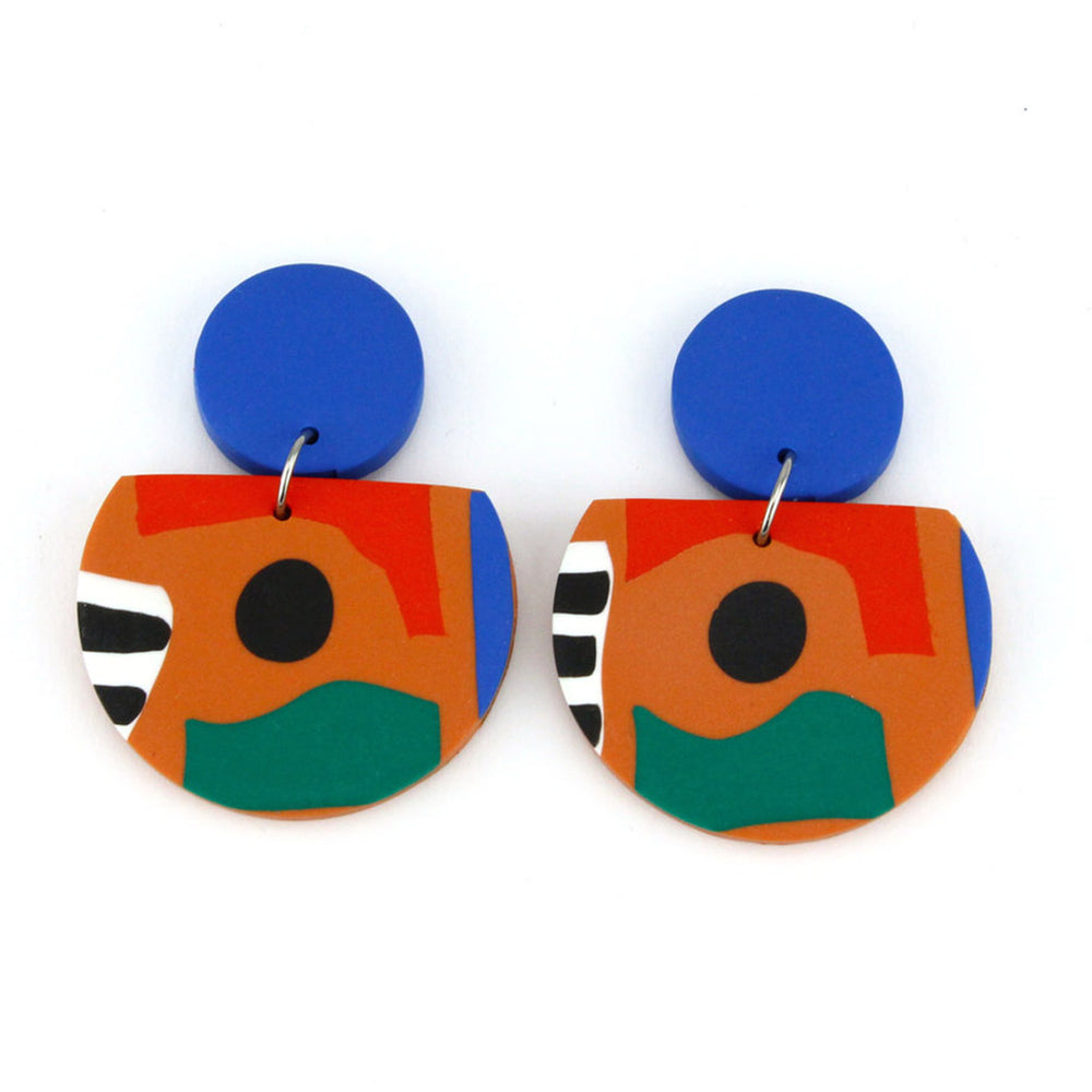 Coco Collage earrings