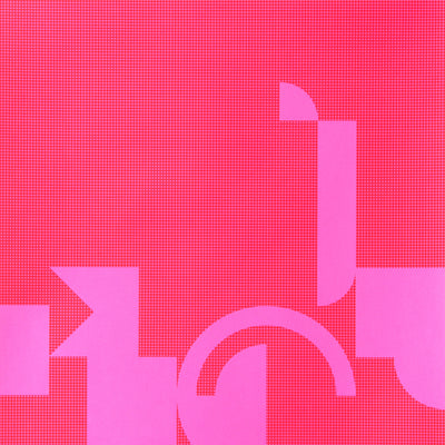 Diptych in Pink 1