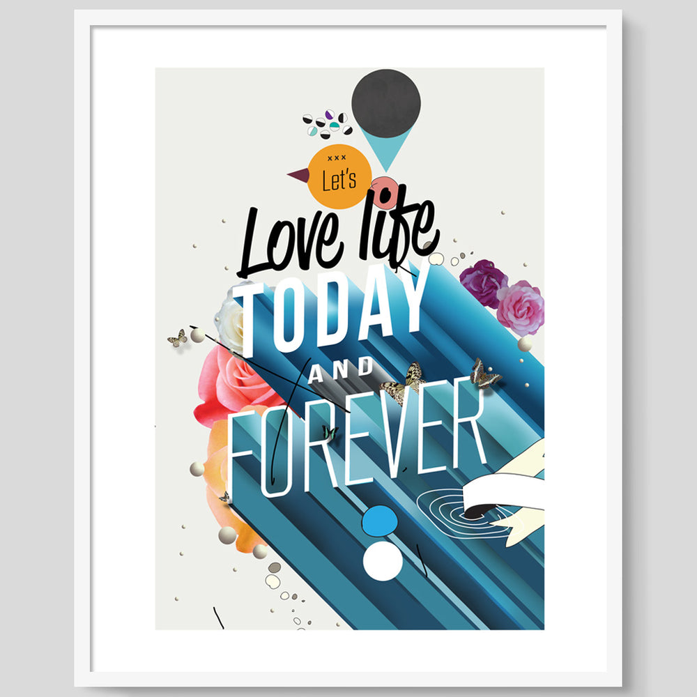 Everything Forever print