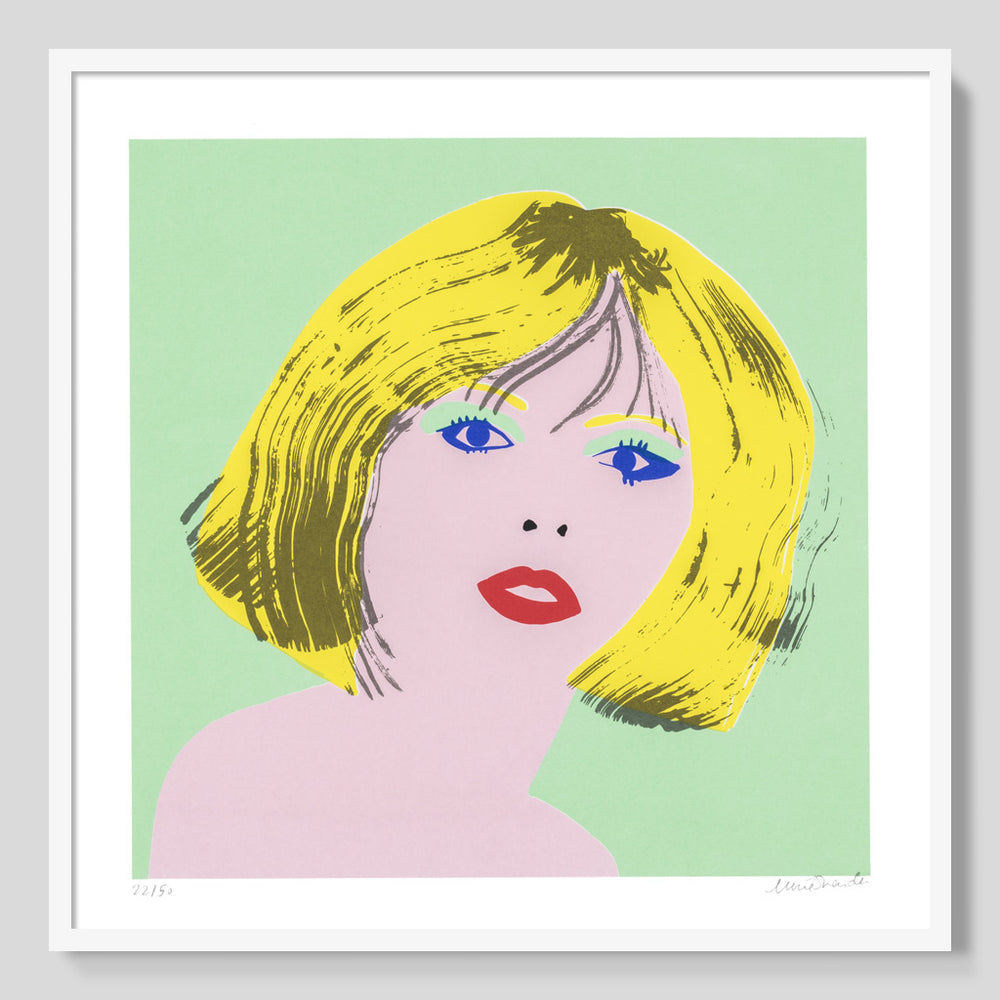 Icon - Blondie print