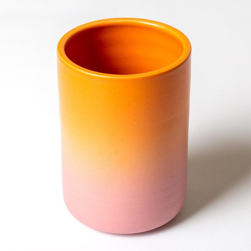 Gradient Tumbler - Orange and Pink