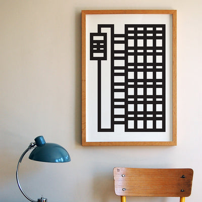 Brutal Is Beautiful - Trellick print