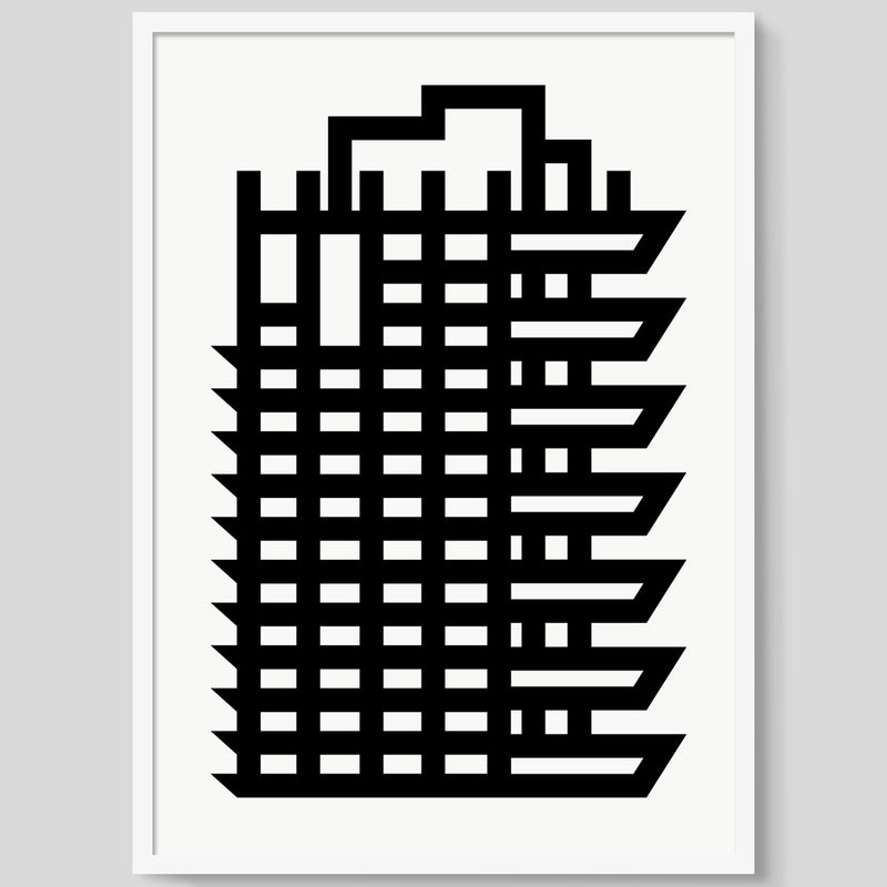 Brutal Is Beautiful - Barbican print