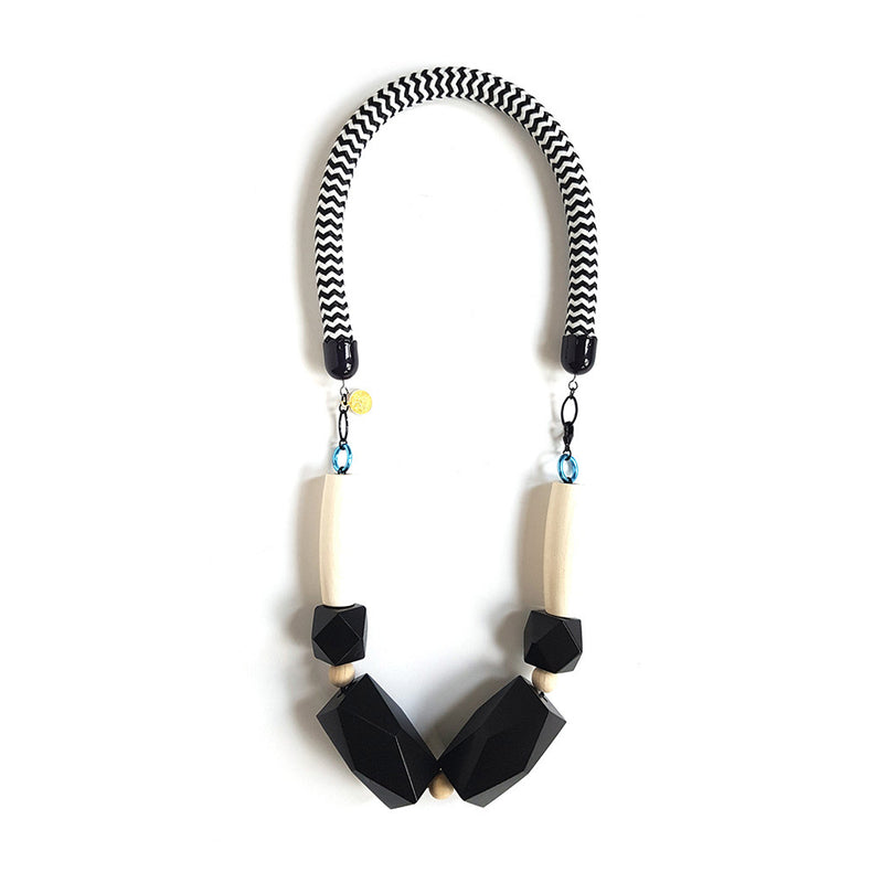 Pop Necklace - All Black