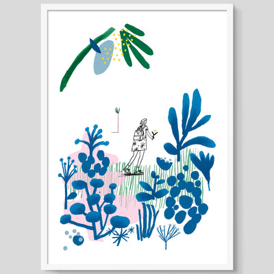 The Young Botanist print