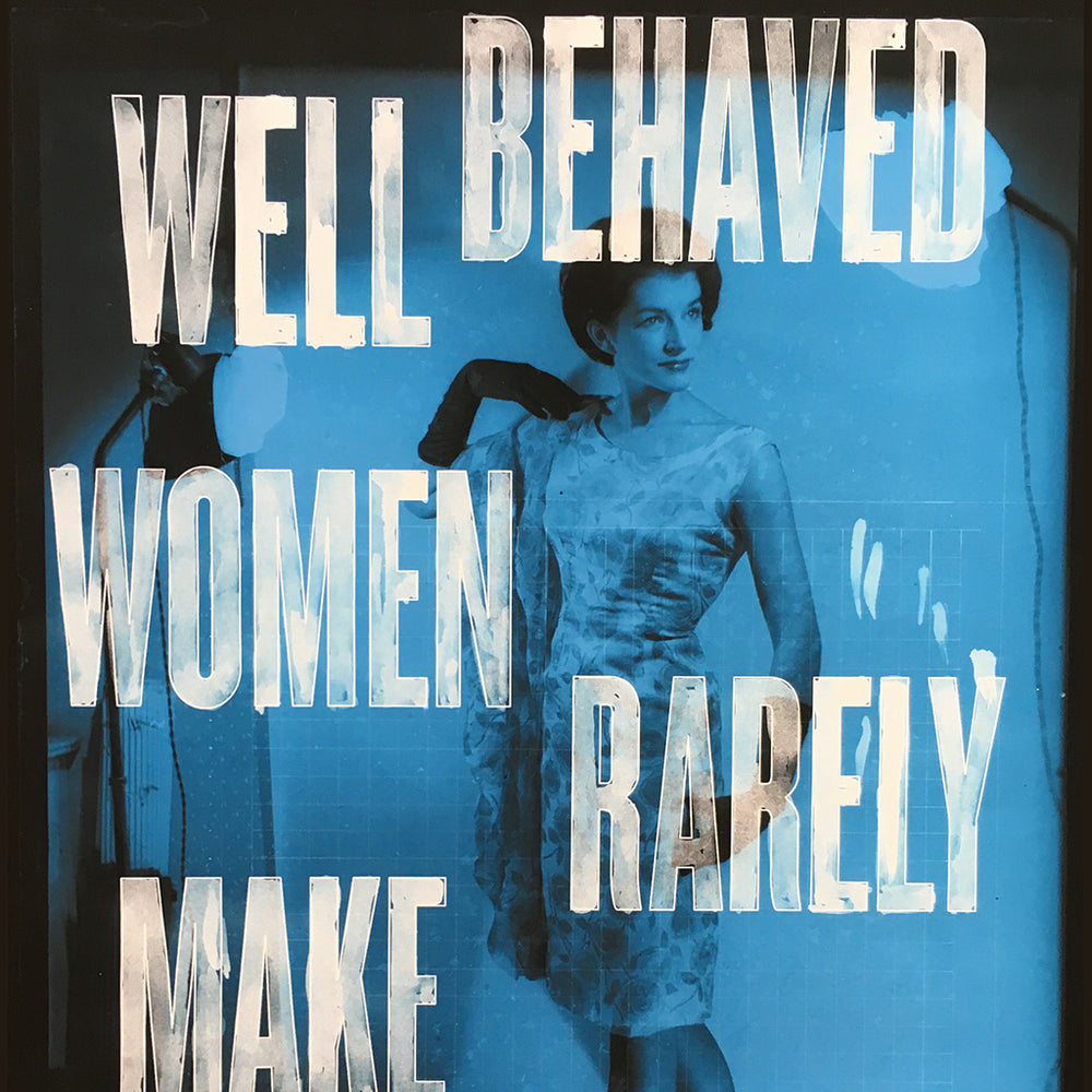 Well Behaved Women print