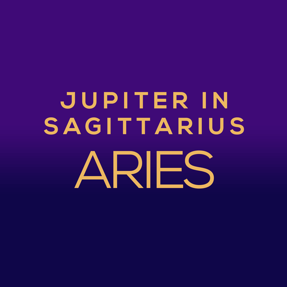 Jupiter in Sagittarius Luck Horoscope - Aries