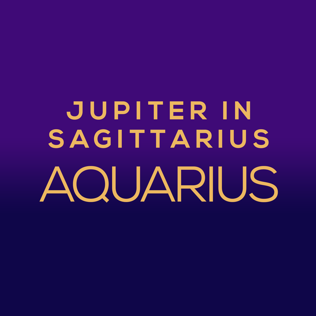 Jupiter in Sagittarius Luck Horoscope - Aquarius - thevoluptuouswitch