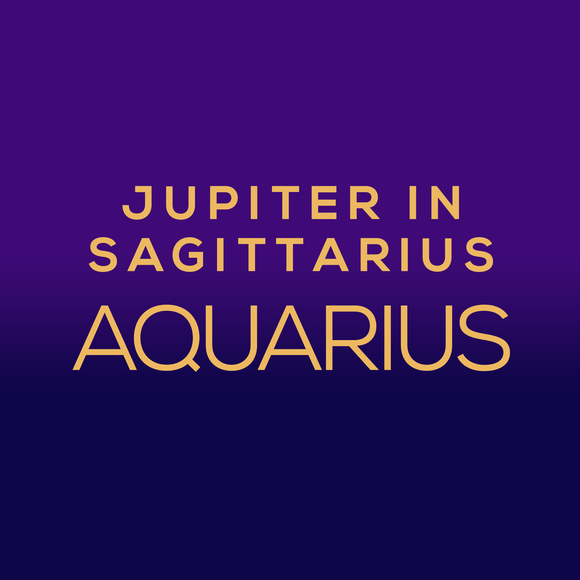 Jupiter in Sagittarius Luck Horoscope - Aquarius
