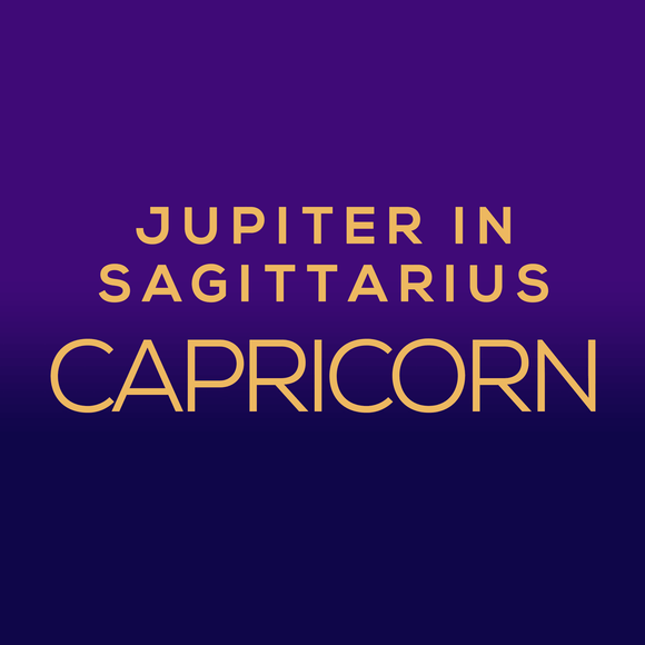 Jupiter in Sagittarius Luck Horoscope - Capricorn