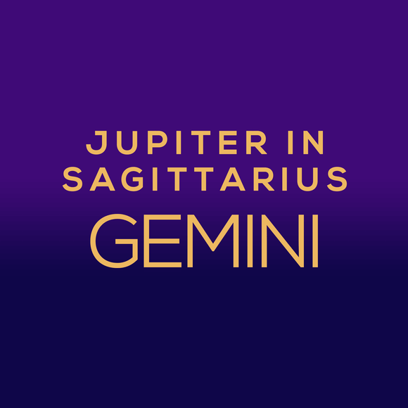 Jupiter in Sagittarius Luck Horoscope - Gemini