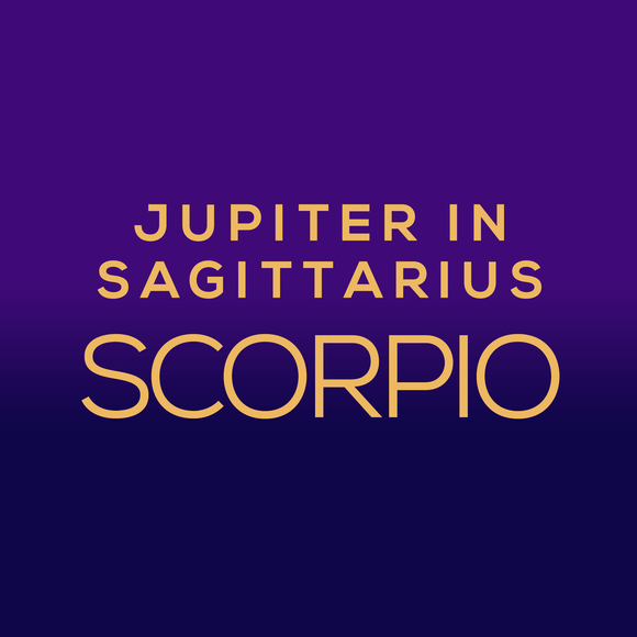 Jupiter in Sagittarius Luck Horoscope - Scorpio