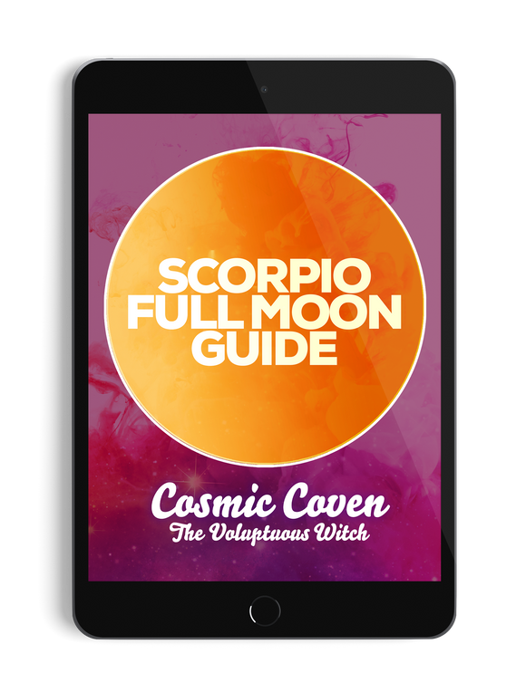 Scorpio Full Moon Guide - thevoluptuouswitch