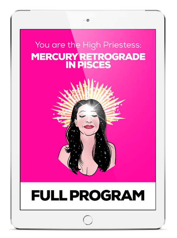 High Priestess: Mercury Retrograde in Pisces - FULL PROGRAM - thevoluptuouswitch