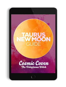 Taurus New Moon Guide - thevoluptuouswitch