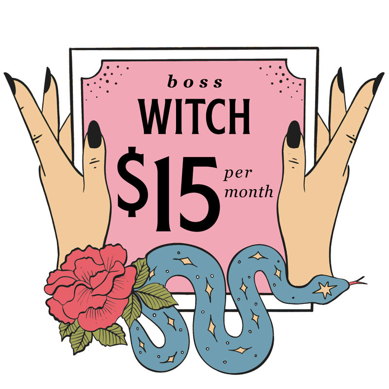 Membership - Boss Witch - thevoluptuouswitch