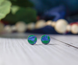 Love the World Stud Earrings