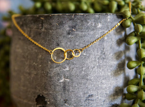 Premier Collection Triple Infinity Necklace