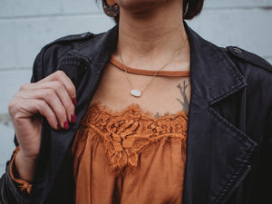 Premier Collection Lisa Druzy Necklace