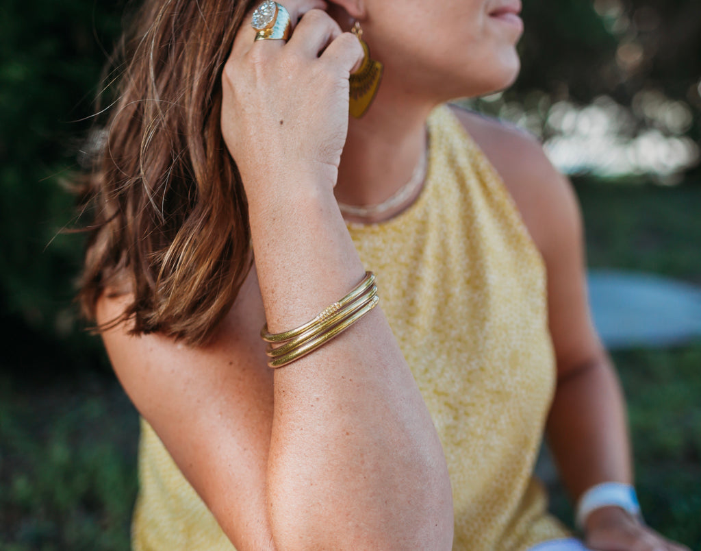 Jelly Bangles - Gold